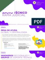 Apoyo Técnico Rama Judicial