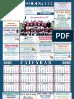 Calender 2005