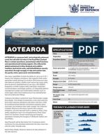 HMNZS Aotearoa fact sheet