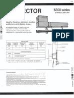 Strand Century Lighting 6300 Series Connector Strip Spec Sheet 6-77