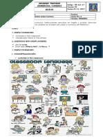 1° - Guía # 2 - English