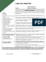 SILABO QUINTO DE SECUNDARIA_III BIMESTRE