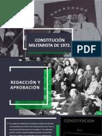 Constitución Militarista de 1972