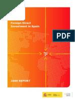 FDI of Spain