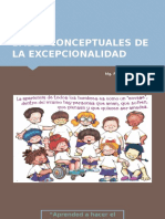 BASES CONCEPTUALES DE LA EXCEPCIONALIDAD