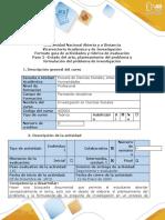 Guía de actividades y rúbrica de evaluación - Paso 2- Estado del arte, planteamiento del problema  y formulación del problema de investigación (1)