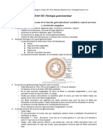 UNIDAD XII y XIII. Fisiología médica