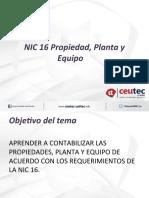 NIC 16 Propiedad, Planta y Equipo.ppt