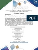 Anexo 3- Paso 4 – Manejo, análisis de datos en determinaciones fisicoquímicas en dif. matrices alimentarias