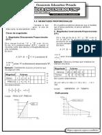 magnitudes proporcionales sec 1