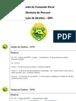 Apresentação Seção de Direitos DP5 - atualizada em 27-04-2018