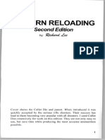 Modern Reloading 2nd Edition by Richard Lee
