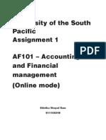 AF101 assignment1