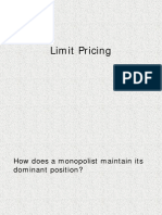 Limit Pricing