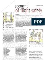The Management of Flight Safety