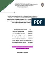 INFORME DEL   ANTEPROYECTO DE SERVICIO COMUNITARIO (1).docx