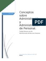 Conceptos Sobre Administración