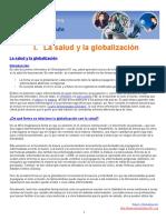 1. DOCUMENTO I. LA GLOBALIZACIÓN Y LA SALUD PÚBLICA