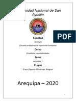 Alexander Teves Zapana Estadistica y Probabilidades 1