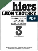 Cahiers Léon Trotsky, Numéro 03 (juillet–septembre 1979)