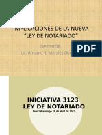 IMPLICACIONES DE LA NUEVA ley de notariado
