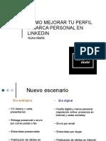 U2_R1 Cómo mejorar tu perfil y marca personal en LinkedIn - Núria Mañé.pdf