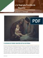 Novena a la Sagrada Familia de Nazaret