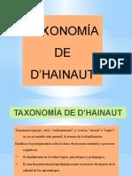 TAXONOMÍA D'HAINAUT 2019