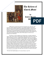 The Reform of Church Music Ward