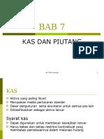 BAB 7-kas  dan piutang