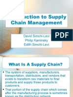 Ch 01 Introduction to Supply Chain Management