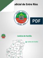 Mapa Justicia Entre Rios