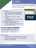S-DLD Device Datasheet
