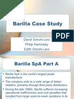 Ch 04 Case Barilla Spa