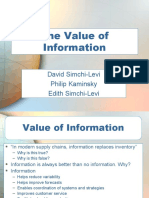 Ch 04 Value of Information