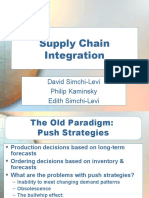 Ch 05 Supply Chain Integration