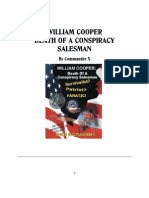 William Cooper;Death of a Conspiracy Salesman by Comander x