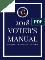 2018 Voter's Manual - Ateneo COMELEC