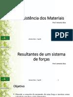 Aula 4 - Resultante de um Sistema de Forças.pdf
