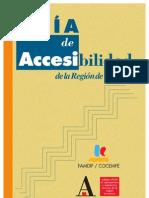 Normativa sobre accesibilidad de la Región de Murcia