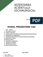 Model Prezentare Caz