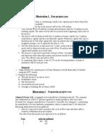 Cash Flow Case(Project Analysis)