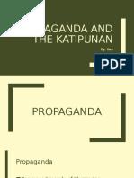 Propaganda and the Katipunan