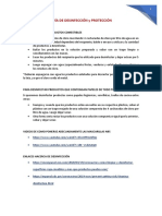 GUÍA DE DESINFECCIÓN y PROTECCIÓN Coronavirus 2020