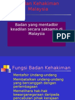 Badan Kehakiman Malaysia