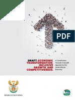 Towards a Growth Agenda for SA