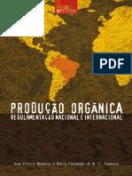 Produção organica regulamentação nacional e internacional