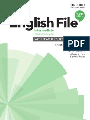 Englishfile 4e Intermediate Teachers Guide Pdf English Language Adjective