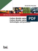 BSI Standards Publication Carbon dioxide capture — Carbon dioxide capture systems , technologies and processes -2016.pdf