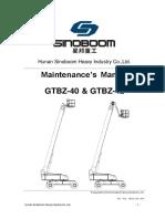 GTBZ40-42 Service Manual